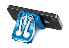 iPhone 5 EarPods Earphone Case and Phone Stand