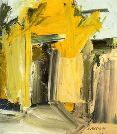 door to the river.  de Kooning.