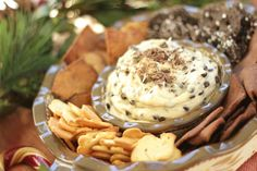 temp-tations® by Tara: Easy Holiday Party Dip: Cookie Dough Dip