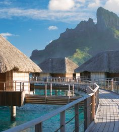 Welcome to your water bungalow at @Four Seasons Resort Bora Bora