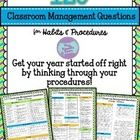 Getting an excellent start on classroom management at the beginning of each year will help your learners to monitor their own behavior according to...
