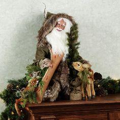 Stone Soup Limited Edition Handmade Shasta Santa