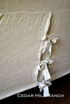 Cedar Hill Ranch: French Linen Slipcovers  9/14/12