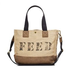 """Our most """"functional"""" bag yet, the FEED Function Bag, with sturdy interior pockets to organize all your essentials, is perfect for a life on-the-go."""