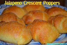 Jalapeno Crescent Poppers