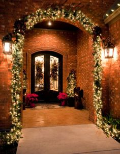 Christmas Entryway Decorations   Christmas Entryway Décor Ideas