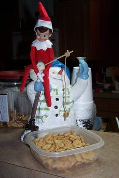 Fishers of men on pinterest fishers of men fishing and for Elf on the shelf fishing