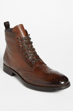 brennan wingtip, fashion shoes, fashion styles, men fashion, men shoes, wingtip boot, fall styles, boot brennan, boots