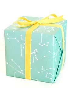 Constellations Gift Wrap || Sycamore Street Press