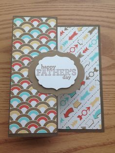 Father's Day Stampin' Up card made to order FREE SHIPPING by bduwe, $2.00