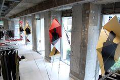 Special Window Display by Issey Miyake x Fumie Shibata | Blog | Fumiko Kawa
