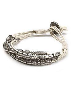 500 gift, fashion bracelets, silver bracelets, gift cards, row silver, diy men bracelet beading, jewelri, friendship bracelets, leather bracelets