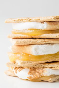lemon meringue pie smores