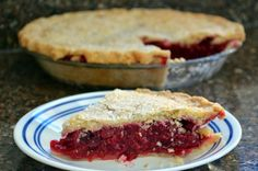 Cranberry-Raspberry Pie | Pie on Sunday tart, cranberryraspberri pie