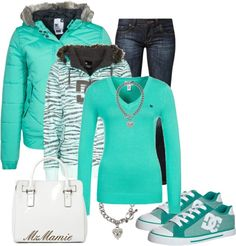 Couldn't love this outfit more... unless those shoes were Tiffany blue Converse ... So cute