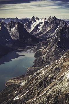 Greenland's rugged East Coast