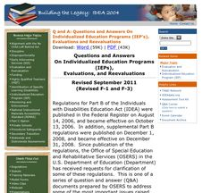 IEP questions answered! Pinned by SOS Inc. Resources http://pinterest.com/sostherapy.