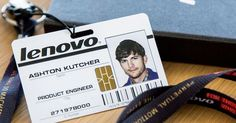 PC maker Lenovo tweeted a picture on Tuesday of its newest employee, and the face on the accompanying staffer ID card might surprise you.