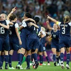 women soccer, third consecut, car lloyd, gold medal, olymp 2012