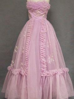 Vintage prom dress from:  Vintageous.com