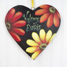 Welcome Daisies project from DecoArt