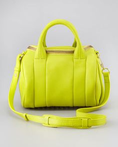 Rockie Small Crossbody Satchel Bag by Alexander Wang in the most delicious color ever!! :)