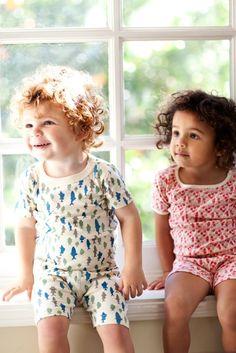 Organic kids pajamas