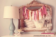 DIY Scrap Fabric Banner...You probably already have all the supplies needed at home...