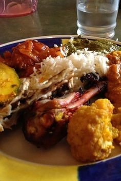 Indian Buffet at Jackson Diner