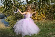 Rapunzel Tutu Dress by whererainbowsend1