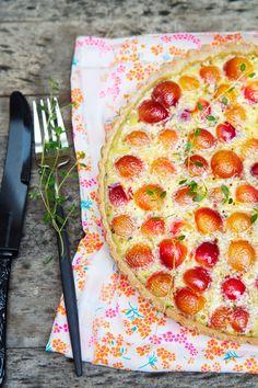 gluten free cherry tart recipe