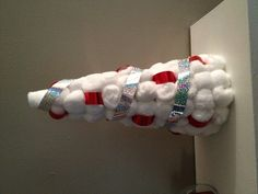 Cottonball Christmas Tree