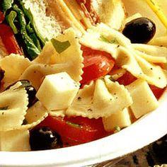 Italian Bow Tie Salad..