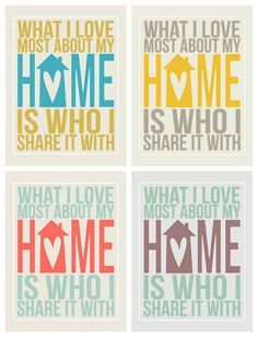 What I love most about my home is who I share it with #freeprintable