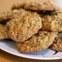 banana oatmeal chip cookies dash diet recipe banana oatmeal, vegan breakfast, chocolate chips, chocolates, breakfast cookies, bananas, dash diet recipes, chip cooki, chocol chip