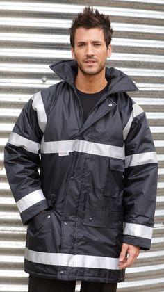 Result Work-Guard Management Coat - Under £26