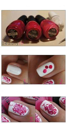 Nail polish idea: Make your nails a mural