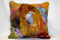 Dharma Trading Co. Featured Artist: Gayland Preacher- hand dyed and sewn pillows