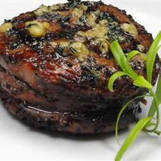 "Sirloin Steak with Garlic Butter: 4 ingredients, including the steaks. ""have never tasted any other steak that came even close to the ones made with this recipe...The butter makes this steak melt in your mouth wonderful."""