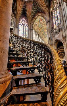Ely Cathedral, Cambridgeshire, England ~ Photo by nick.garrod, via Flickr