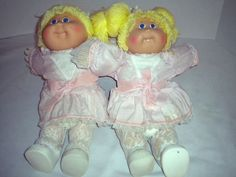Cabbage patch kids twins i still have my twins a boy amp a girl