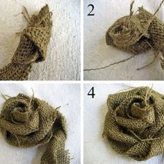 Getting Cozy for Cooler Weather...Sweater Pillows with a Burlap Rose Tutorial
