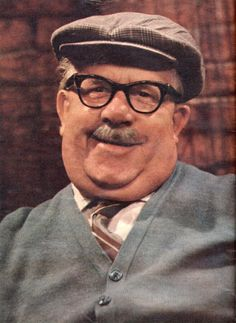 A TV superstar from 1970: Albert Tatlock, from Coronation Street.