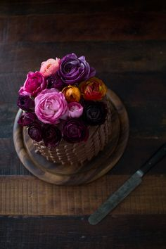 THREE LAYER CHOCOLATE CAKE WITH CHOCOLATE GANACHE FILLING AND CHOCOLATE BUTTERCREAM FROSTING