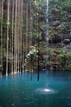 Cenote, Riviera Maya, Mexico