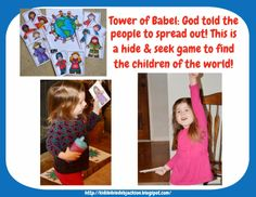 Preschool Alphabet: T is For Tower of Babel