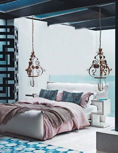 ocean inspired bedroom