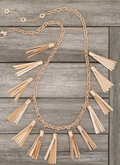 can't get enough of gold tassels!