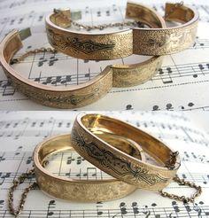 Victorian Wedding Bracelets