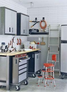 Garage Storage Ideas – Cabinets   Shelterness